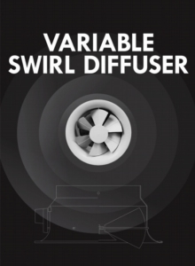 Variable-Swirl-Diffuser