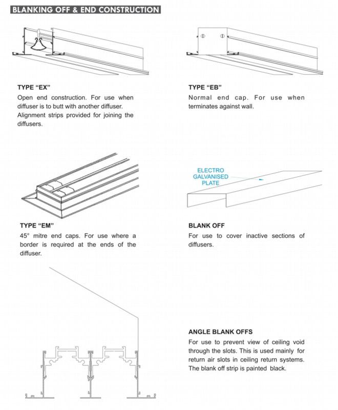 Linear Diffuser With Damper : Linear diffuser rglazen